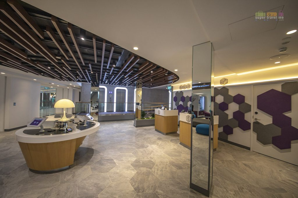 Mission Control at YOTELAIR Changi - Where you check in and check out