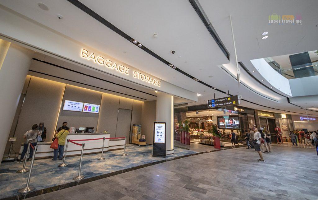 Baggage Storage at Level 2 Jewel Changi Airport