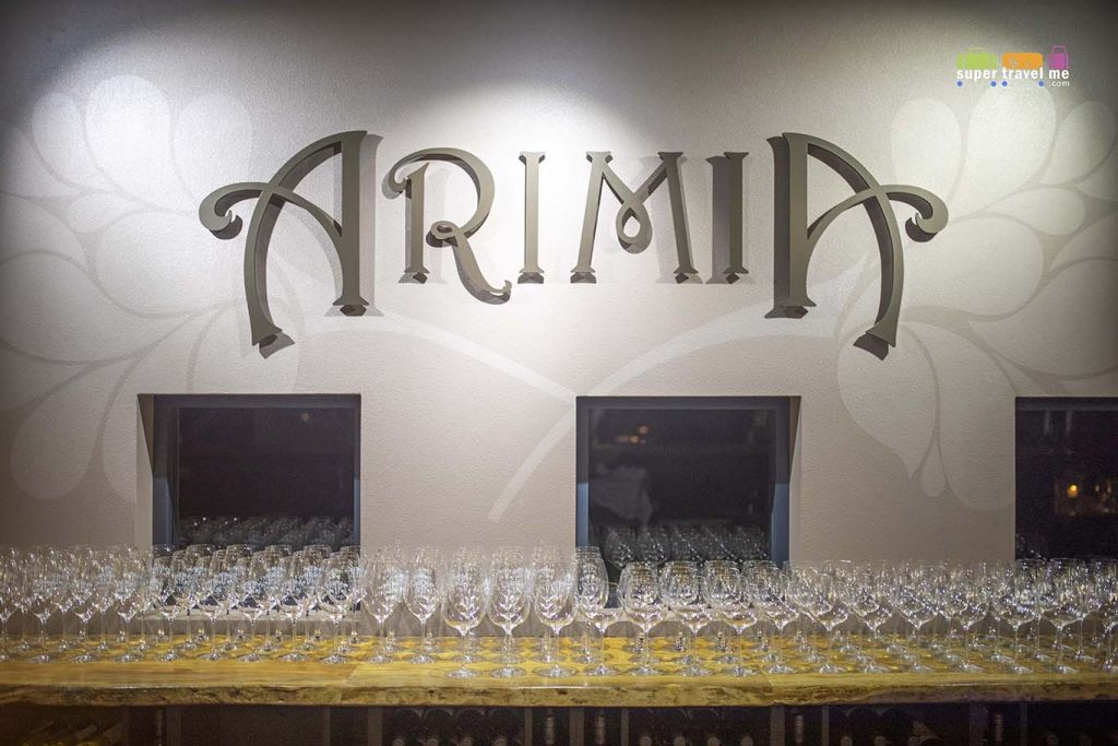 Arimia Winery and Restaurant in Margaret River