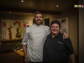 Chef Evan Hayter from Arimia and Chef Melissa Palinkas from Young George