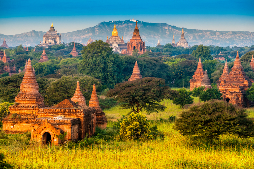 Bagan Pagodas (Ministry of Hotels and Tourism, Myanmar photo)