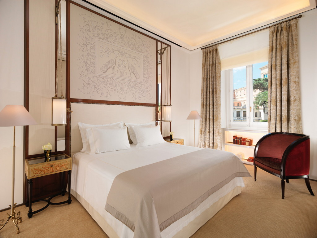 Hotel Eden In Rome Reopens After 18 Month Restoration