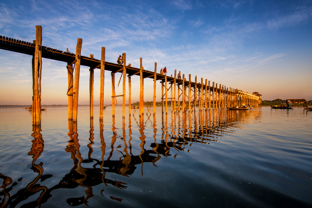 U Bein Bridge (Ministry of Hotels and Tourism, Myanmar photo)