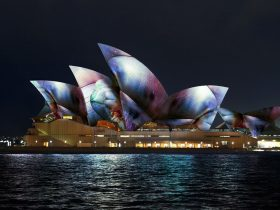 Vivid Sydney 17 - Lighting Sails Microsite Tiles (Vivid Live 2017 Photo)