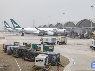 Cathay Pacific Aircraft at HKIA