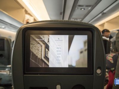 Cathay Pacific In Flight Entertainment A350