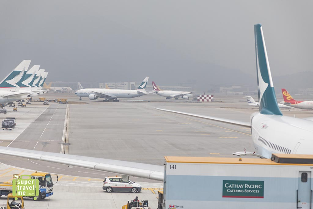 Cathay Pacific at Hong Kong International Airport