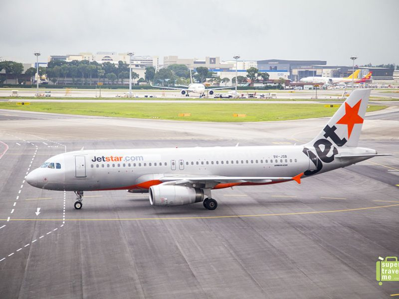 Jetstar Aircraft at Changi Airport