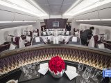 Qatar Airways Business Class Cabin 2