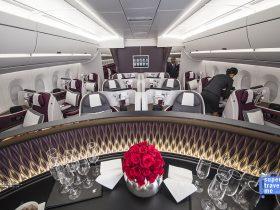 Qatar Airways Business Class Cabin 2