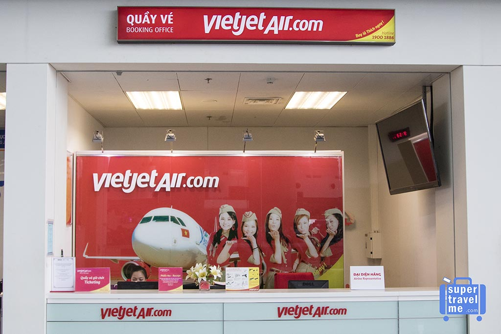 Vietjet at Hanoi Noi Bai International Airport