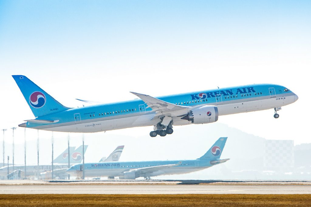 Korean Air B787-9