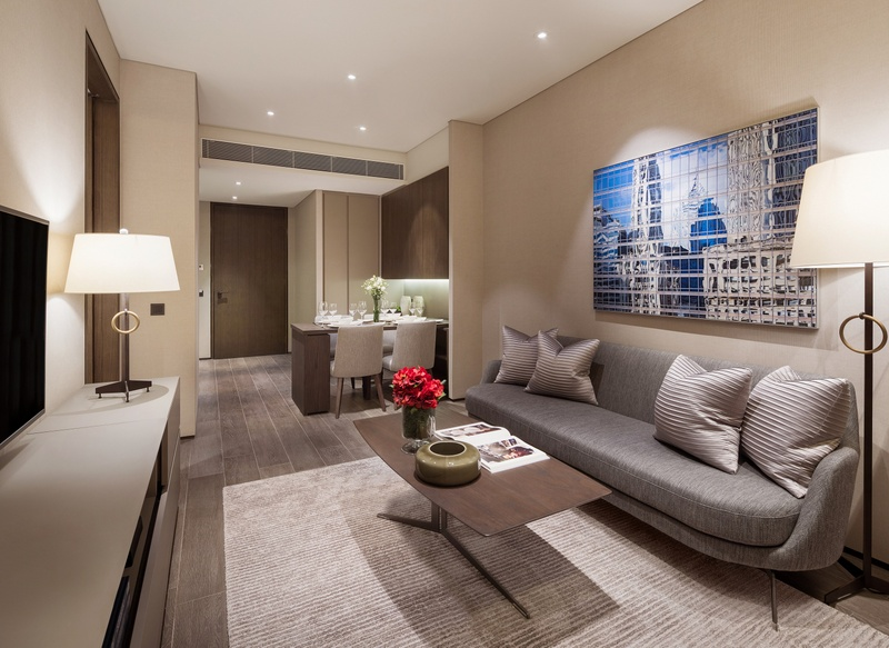 Oakwood Premier Oue Singapore The New 268 Unit Luxury Serviced Apartment Located At Downtown In Heart Of Central Business District Is Expected
