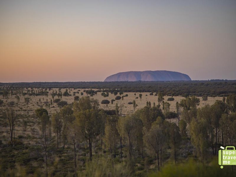 Uluru - Ayers Rock Sunrise