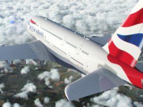 British Airways A380 (British Airways photo)