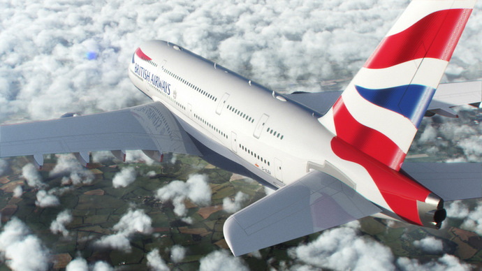 British Airways A380 (British Airways photo)