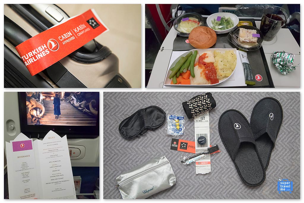 Flying Turkish Airlines Economy Class