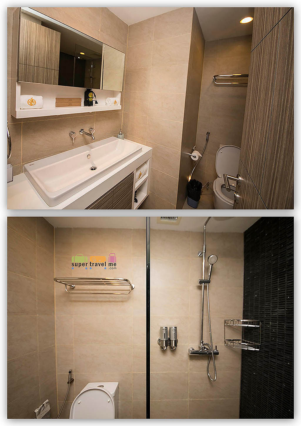 Ensuite Bathroom in Master Bedroom of Two-bedroom Loft Apartment