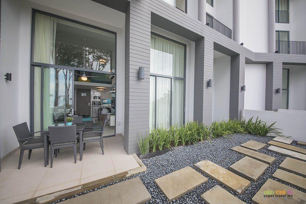 Cassia Bintan - 2 bedroom apartment porch 1G7A5542