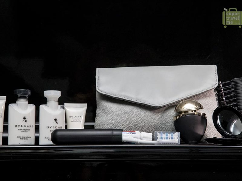 Emirates First Class Amenity Kits for Women