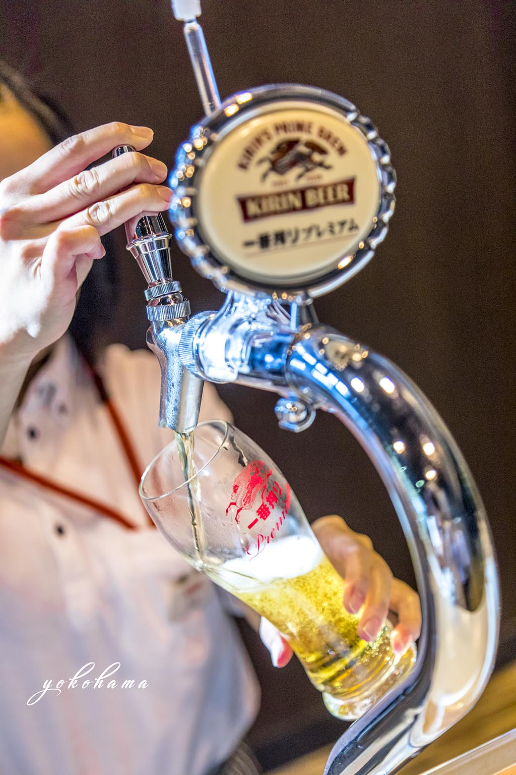 Kirin Beer on Tap