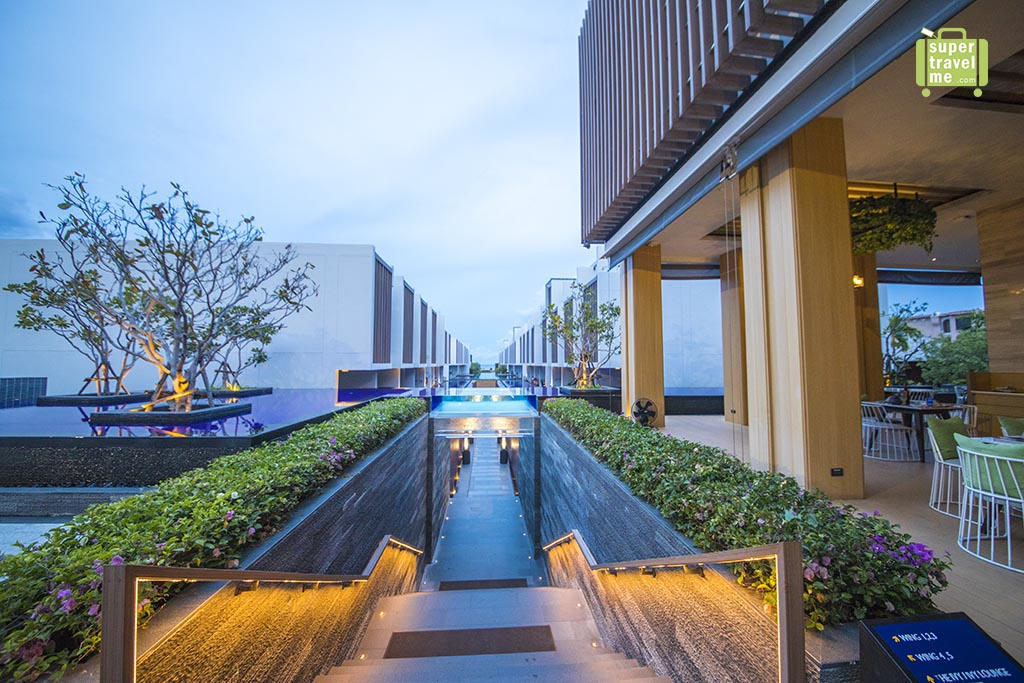 Shades of Blue and green at The Radisson Blu Resort Hua HIn