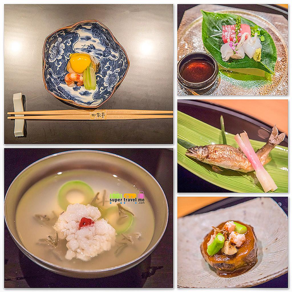 Dinner at Shikitei at Yokohama Royal Park Hotel