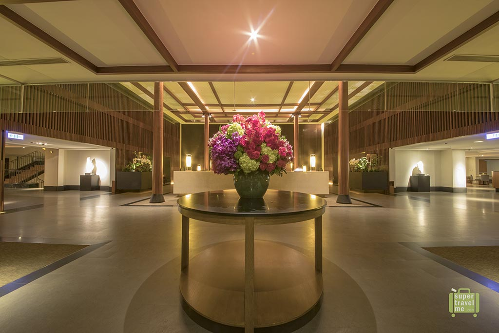 The lobby at Silks Place Taroko