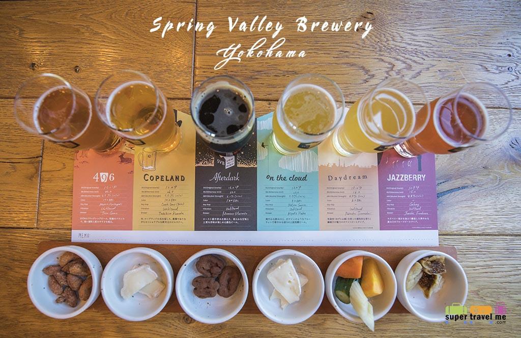 Yokohama - Spring Valley Brewery Tasting