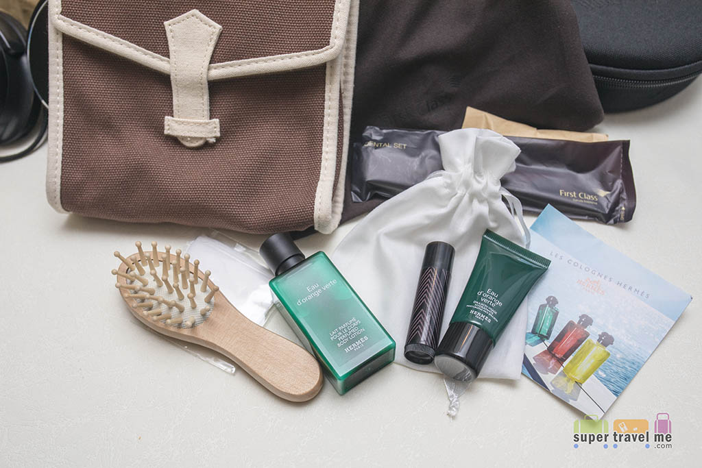 Garuda Indonesia First Class Amenity Kit Featuring Hermes products 1G7A5894