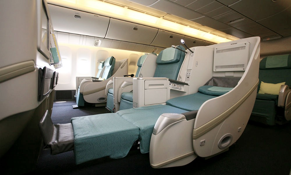 Korean Air Prestige Sleeper Class