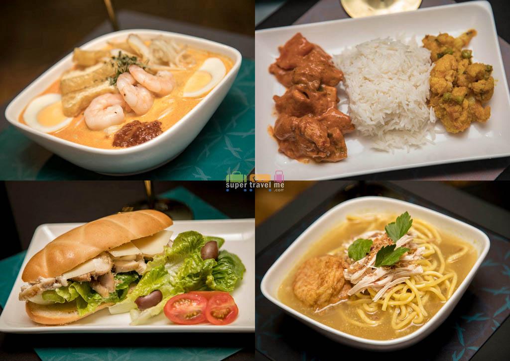 SilkAir Business Class Dining