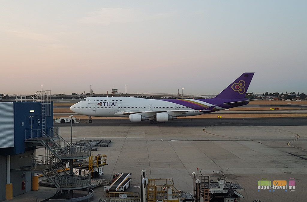 THAI Airways B747 at Sydney Airport (September 2017)