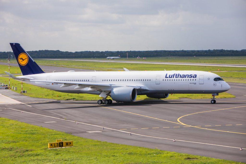 Taufe A350-900, Essen, D-AIXE