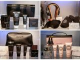 Singapore Airlines A380 new Lalique amenity kit for Suites First class