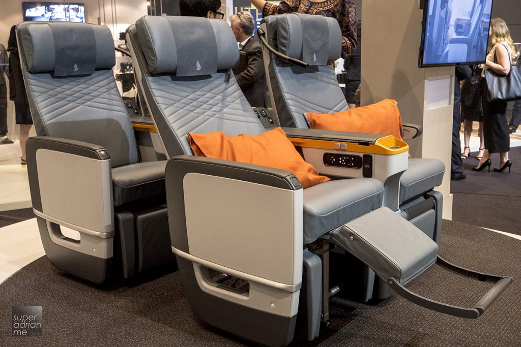 Singapore Airlines A380 new premium economy class 2017