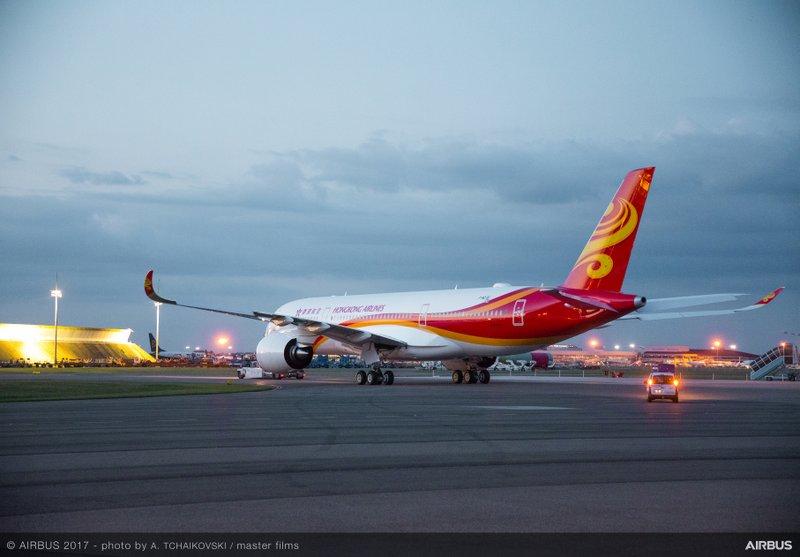 Hong Kong Airlines A350-900 MSN124 (Airbus Photo)