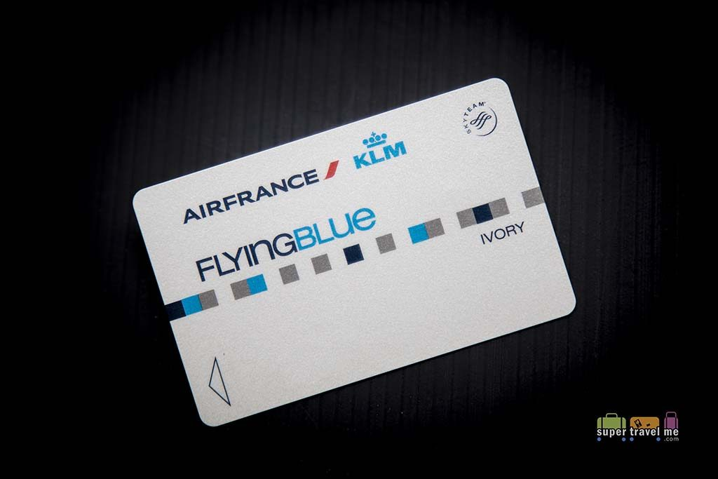 Air France KLM Flying Blue Ivory Membership Card