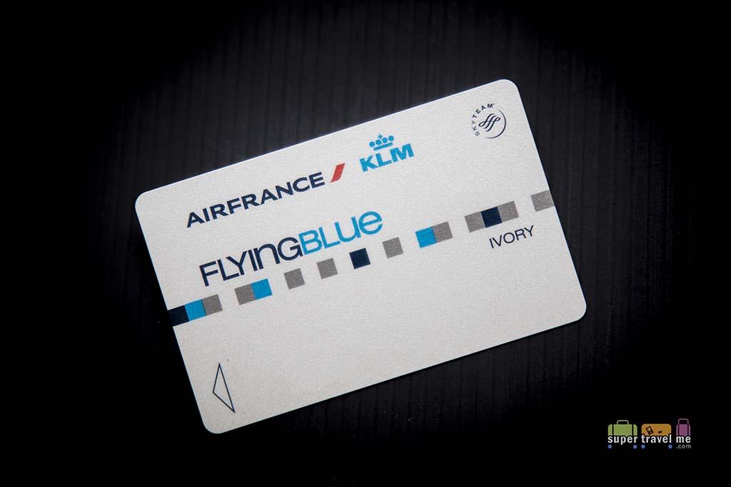 Air France KLM Flying Blue Ivory Membership Card