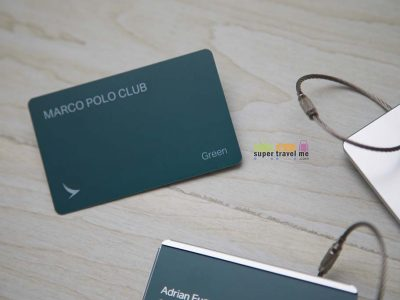 Cathay Pacific Marco Polo Green