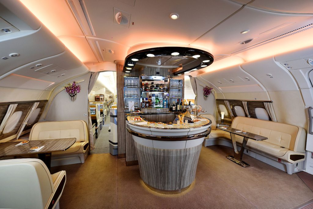 Emirates Onboard Lounge (Emirates photo)