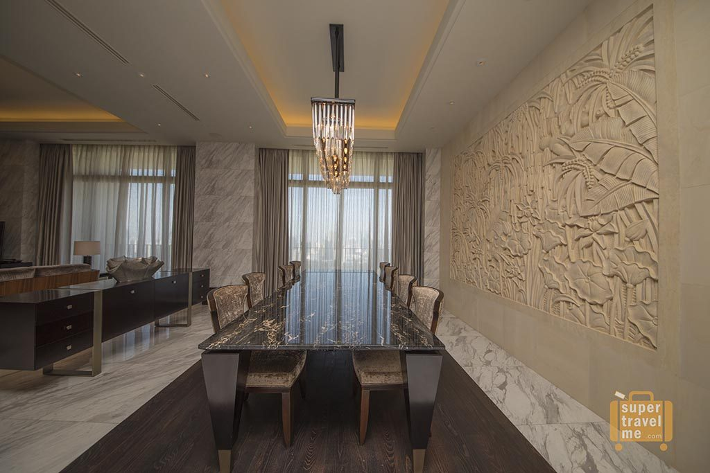 Fairmont Jakarta - Dining in the Presidential Suite 1G7A4169