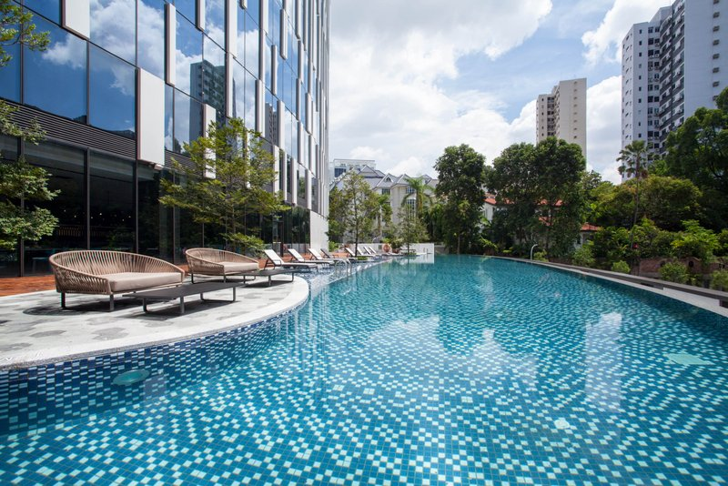 Infinity Pool at Novotel Singapore on Stevens (Novotel Singapore on Stevens photo)