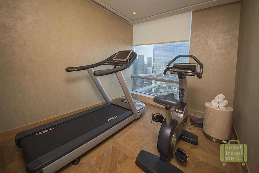 Private Gym in the Raffles Jakarta Raffles Suite