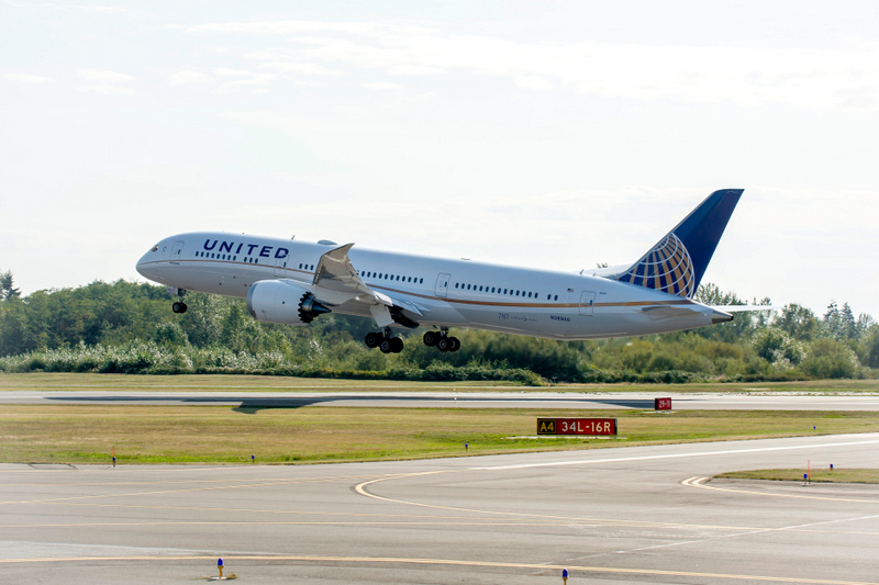 United boeing 787 9 dreamliner