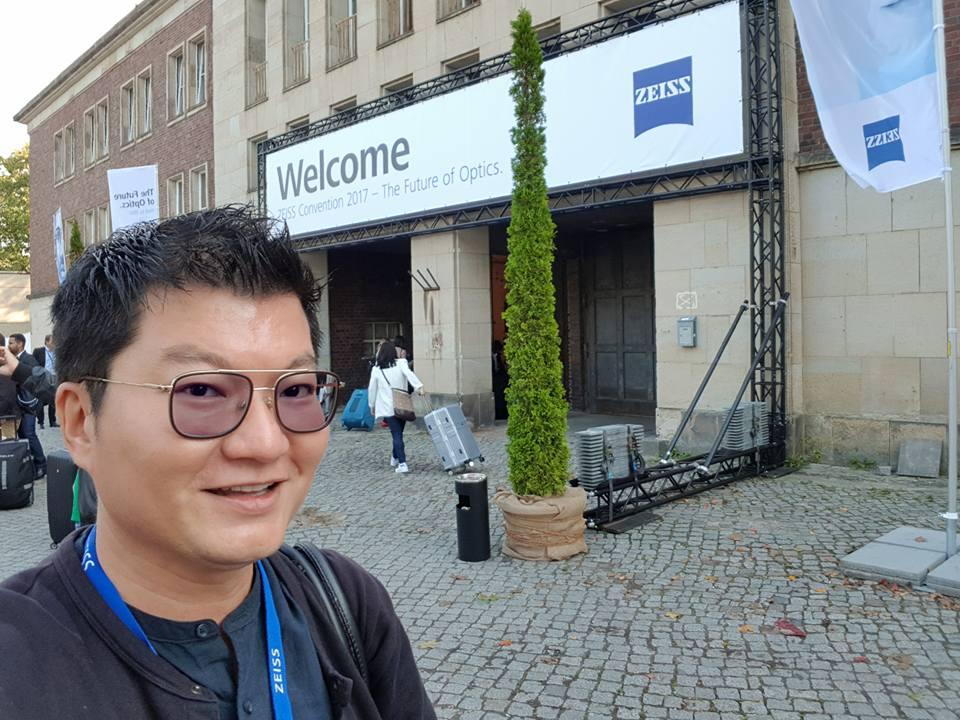 Adrian Eugene Seet in Berlin for ZEISS Convention 2017