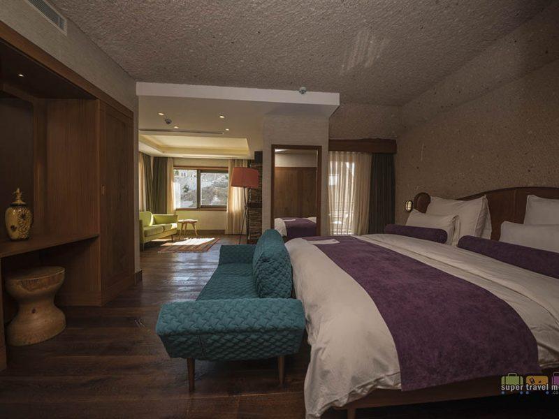 Cappadocia, Turkey: Aruru King Suite with Spa at Ariana Sustainable Luxury Lodge