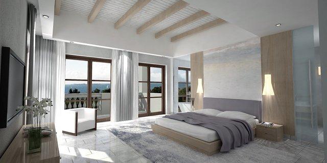 Angsana Corfu, Greece Villa bedroom