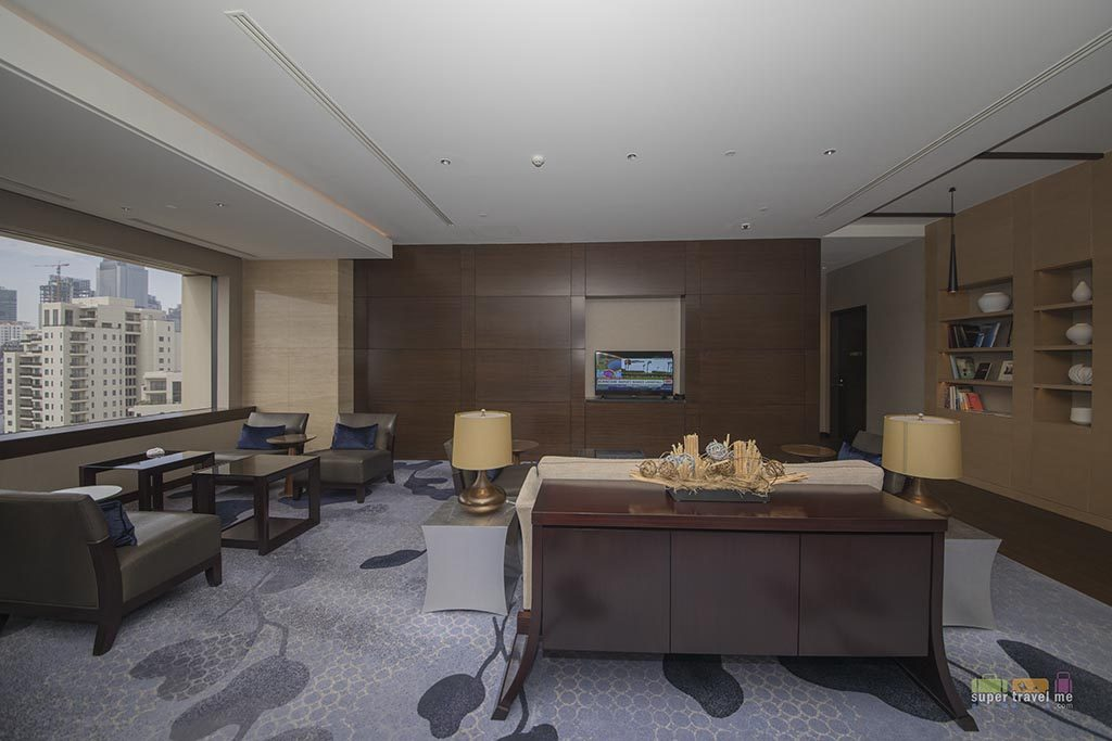 Fairmont Gold Lounge in Fairmont Jakarta - Lounge area