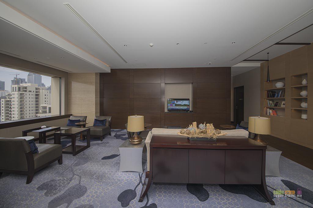 Fairmont Gold Lounge in Fairmont Jakarta - Lounge area